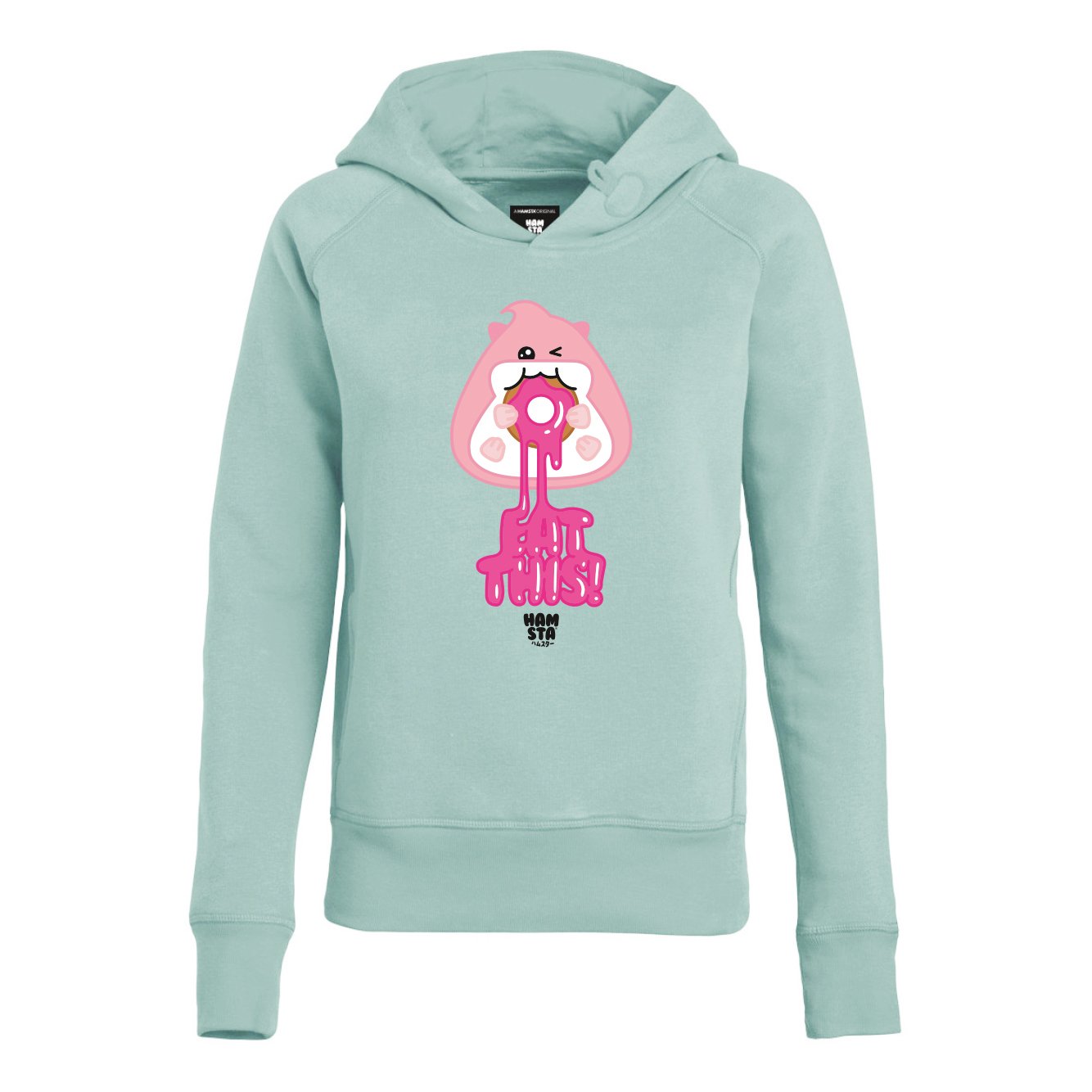 best deals on fashion style reliable quality Girls Hoodie Mint Green - Eat This