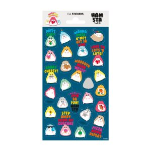 HAMSTA® Happy Hamstas – Da Stickers